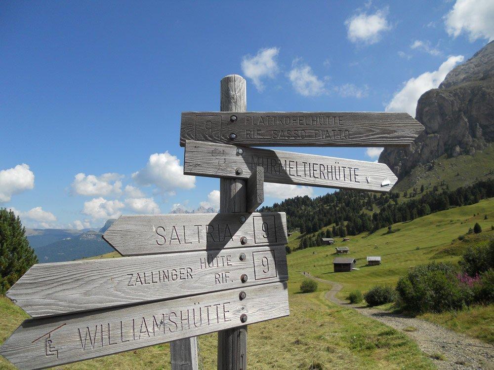 Über die Mahlknechthütte nach Saltria