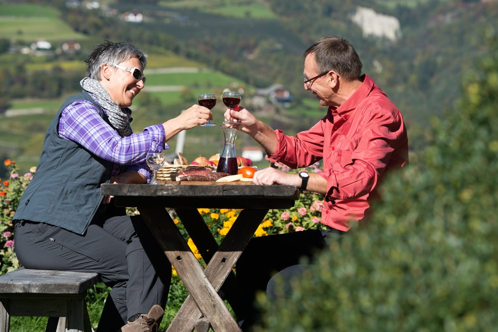 Gastronomic experience during your walking holiday on the Siusi Alp/Dolomites